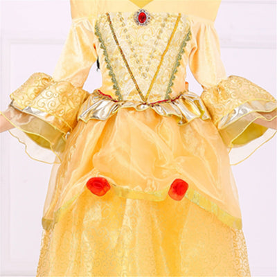 Belle Costume Princess Dress