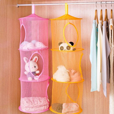 Hanging Storage Shelf Bedroom Organizer