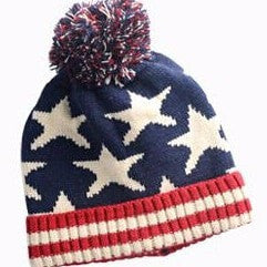 Kids Knitted Flag Warm Hat