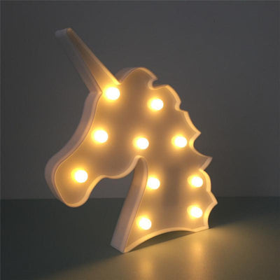 3D Unicorn Table Light