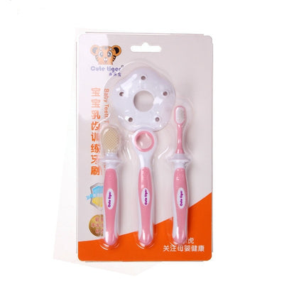 Baby Silicone Learning Teeth Brush