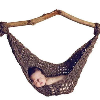 Cosy Coloured Crochet Baby Hammock