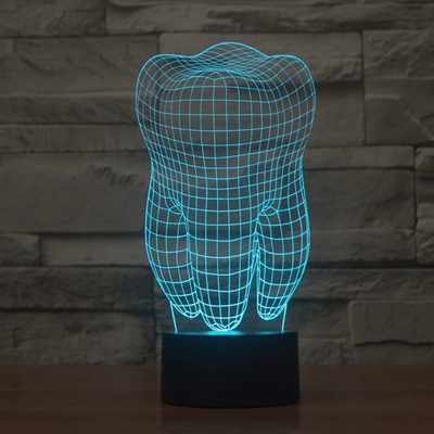 Illusion 3D LED Night Light For Kids Bedroom