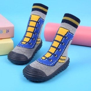 Anti-Slippery Soft Rubber Warm Home Shoes