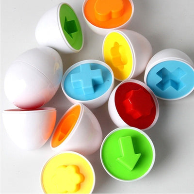 Kids Mixed Shape Eggs Learning Educational Toys