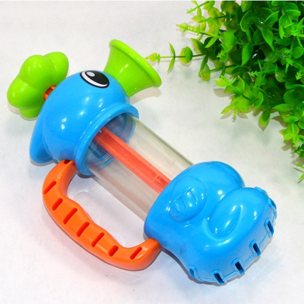 Sea Horse Sprinkler Pumping Baby Bath Toy - Momeaz