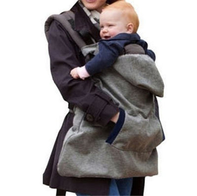 Baby Carrier Warm Velvet Wrap