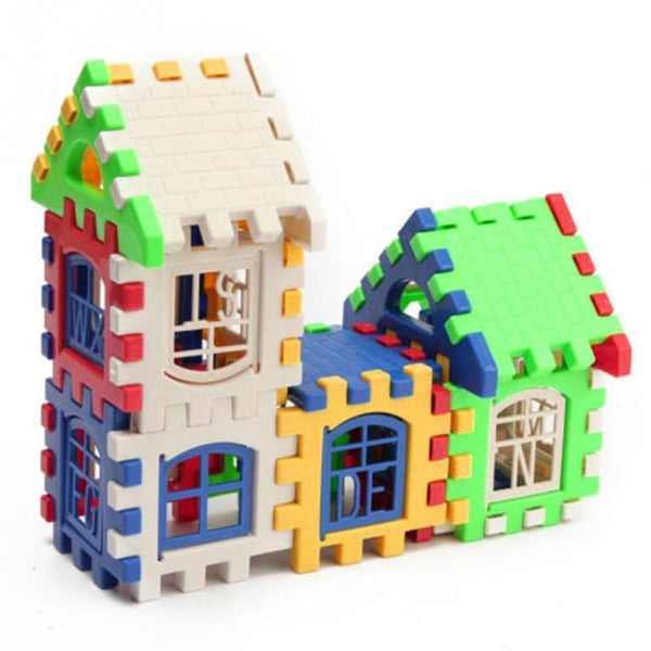 Children House Building Blocks Educational Learning