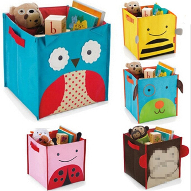 Cartoon Fabric Childrenu0027s Toy Storage Box