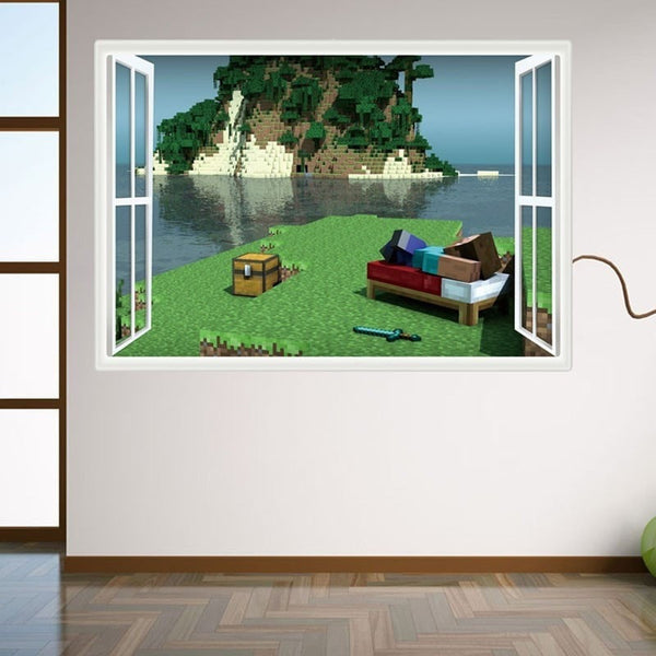 3D Cartoon Wall Stickers For Kids Bedroom