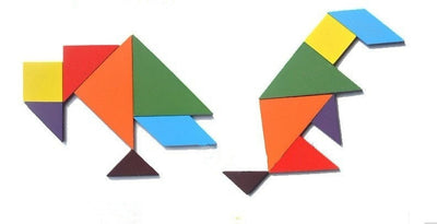 Geometry Wooden Puzzle For Children Education