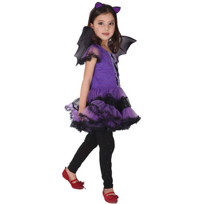 Bat Girl Haloween Costume Dresses