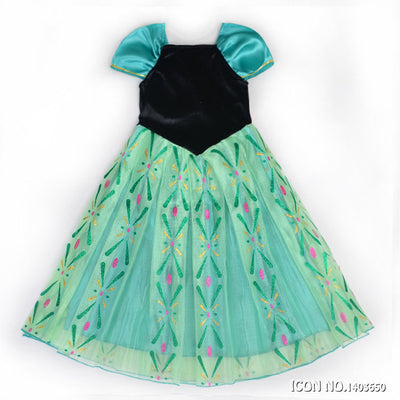 Anna Girl Princess Dress
