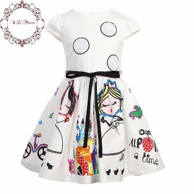 Cotton Sleeveless Princess Dress