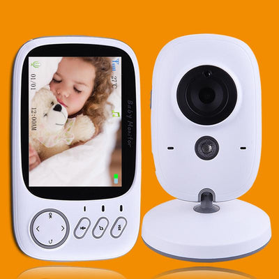 "Baby Monitor High Resolution 3.2"" Wireless  Portable Security Camera Night Vision"