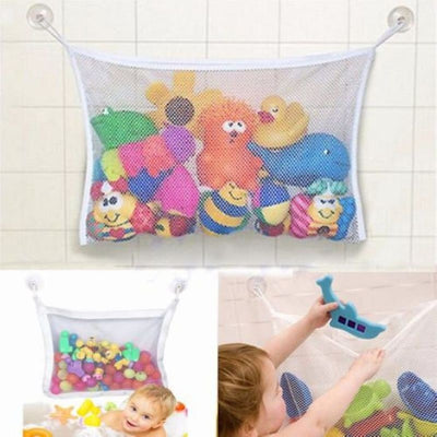 Tub Toy Storage Suction Mesh Bag Organizer