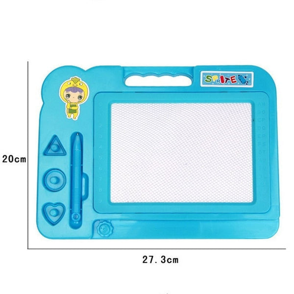 Plastic Magnetic Preschool Drawing Toy