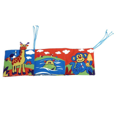 Colorful Animal  Early Education Bed Bumpers