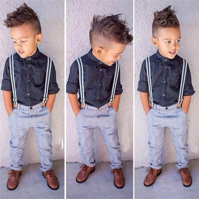 Boys Fashion Clothing Set