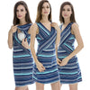 Criss Cross Maternity Dress