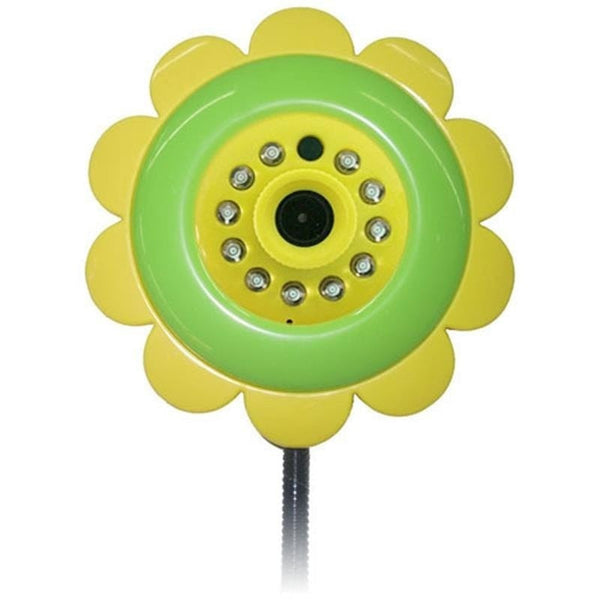 Wifi Sunflower Night Infant Baby Monitor Security Camera For Cellphone