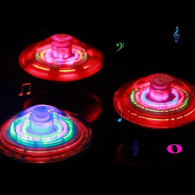 Color Flash LED Spinner