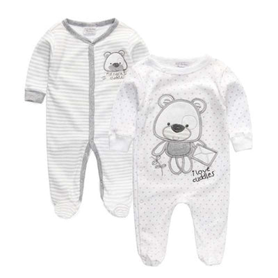 Newborn Cotton Bear Sleepwear