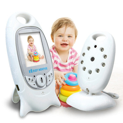 Wireless Baby Monitor With Video Security Camera