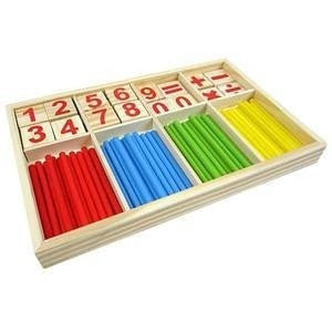 Mathematics Puzzle Educational Counting Material