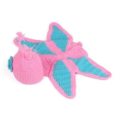 Butterfly Newborn Crochet Photo Costume Clothing