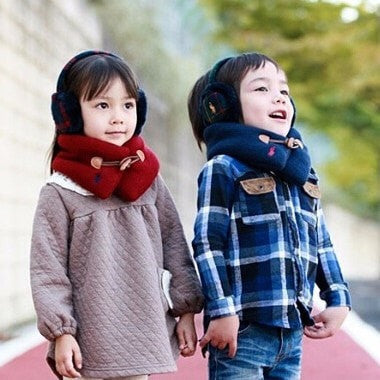 Winter Children Thick Wrap Scarf