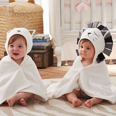 Baby Soft Lion Bath Towel