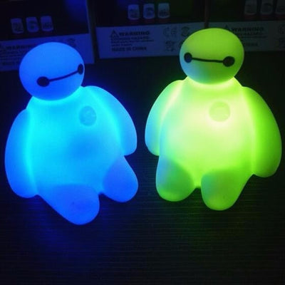 Color Changing Baymax Nightlight Decoration