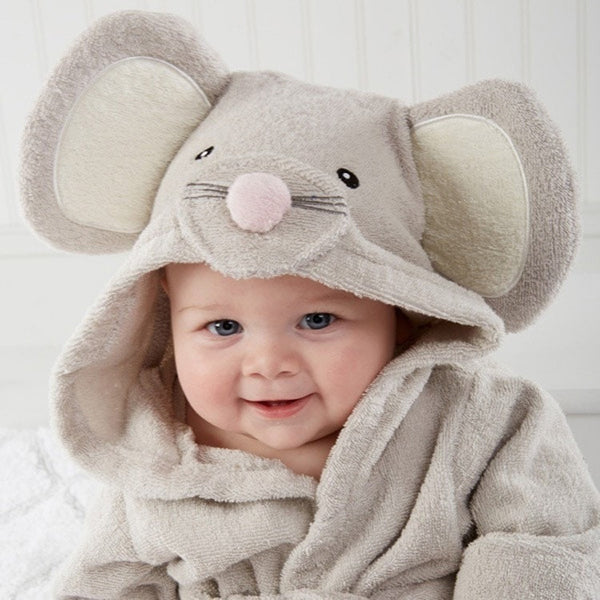 Cartoon Baby Bathrobe Rabbit Bear