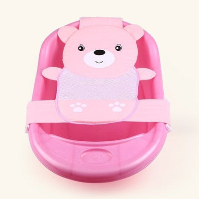 Bear Design Baby Adjustable Bath Seat