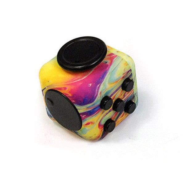 Marbled Fidget Cube Momeaz