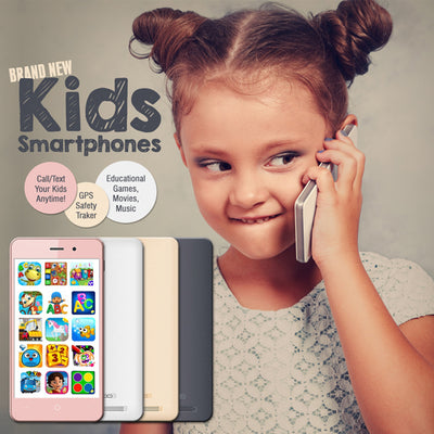 Kideaz S8 - Android Kids Smartphone - Call/SMS and Safety GPS Tracker