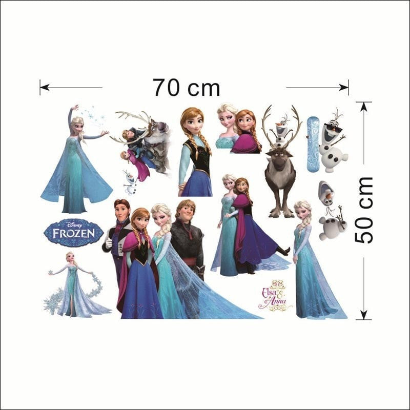 Merveilleux FROZEN Wall Stickers Decor