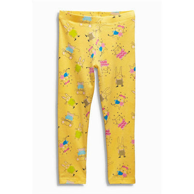 Character Printed Girls Leggings
