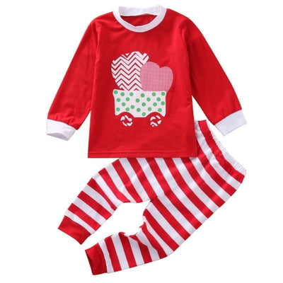 Candy Cane Christmas Nightwear Sleepwear