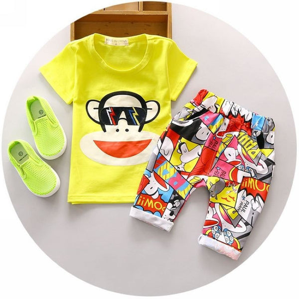Jumper And T-Shirt Set With Character Print