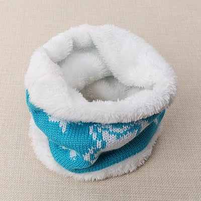 Kids Warm Knit Neck Scarf