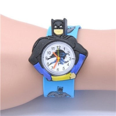 Cartoon Slap Snap Silicone Wrist Kids Watch