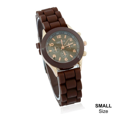 Mini Geneva Rubber Casual Fashion Kids Watch