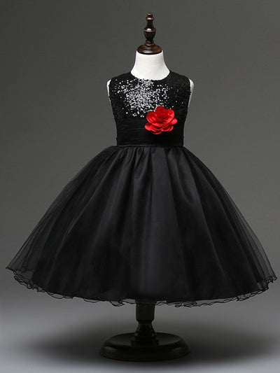 Cute Flower Girls Dress
