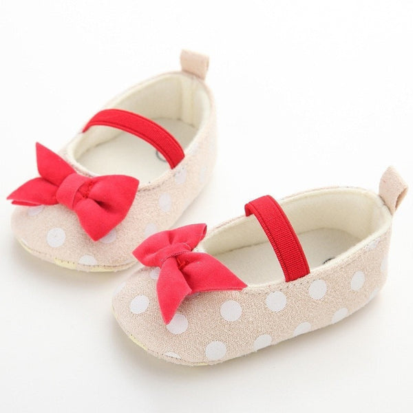 Bow Baby Shoes