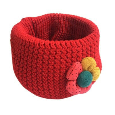 Fashion Little Knitted Ring Scarf