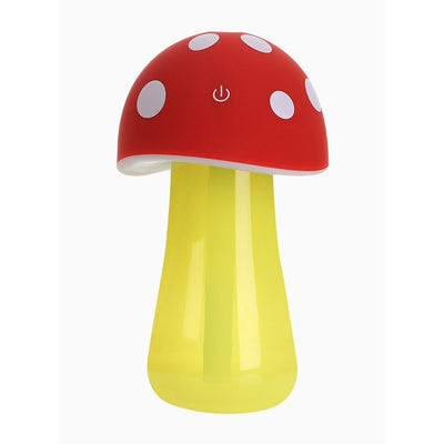 Mushroom Air Humidifier With LED Light