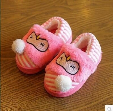 Cute Thermal Cotton-Padded Indoor Slippers