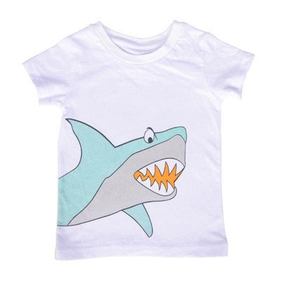 Short Sleeve Cartoon Pattern Tshirt